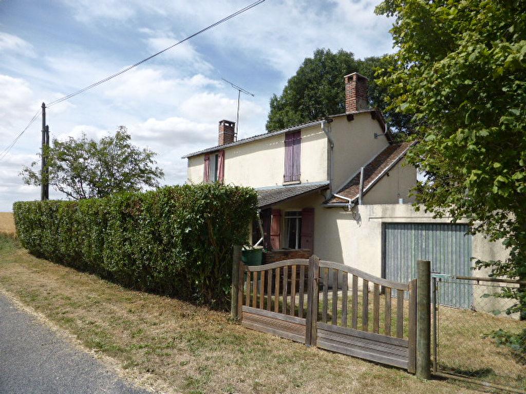 Maison de campagne avec jardin clos à 100km Paris centre dans l'intimité et la tranquillité.