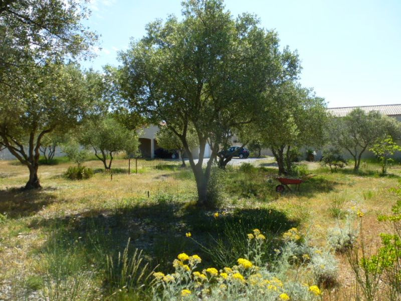 Near the sea and rare this pretty building land planted with approximately 1038m2 with 2 car garages already in place