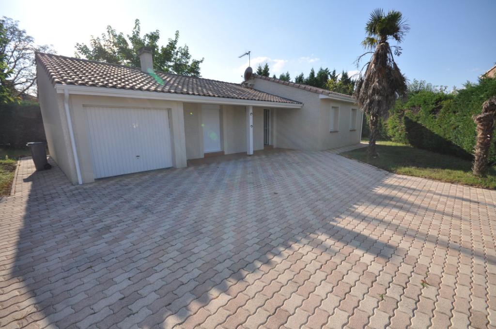VERNET-Maison plain-pied 4 pièce(s) 105 m2