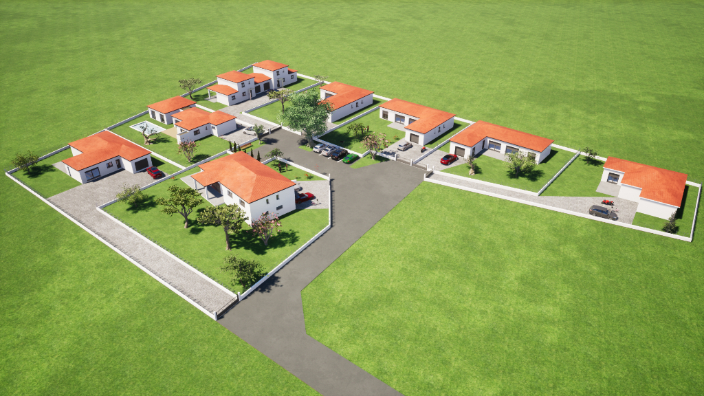 CARBONNE-Terrain 941 m2 constructible