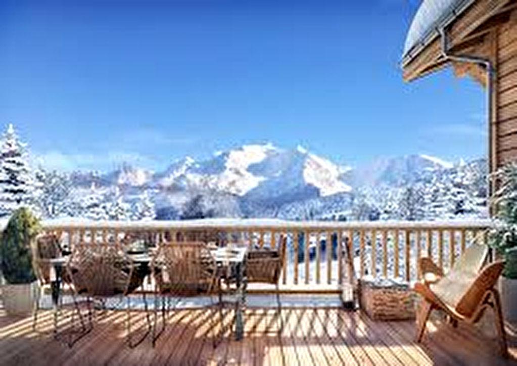 Demeure de Prestige, Chalet du XVIIIè, véritable balcon sur le Mont Blanc