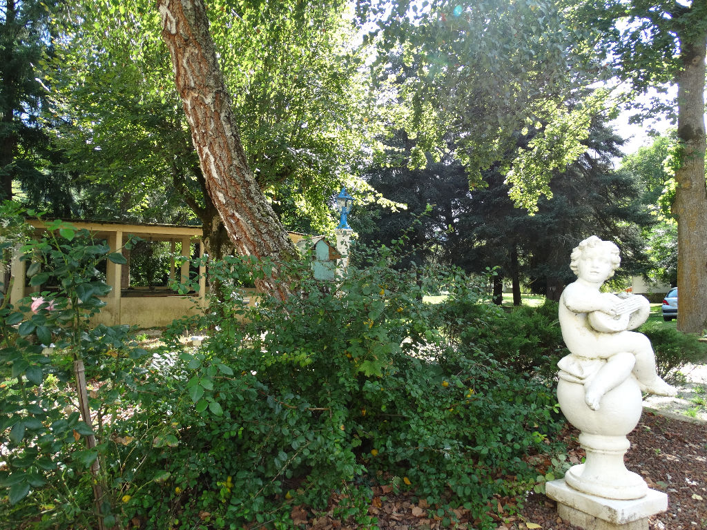 Haute - Loire , Superbe tènement du XV ème sur parc arboré  de 1,8 ha , bord de rivière