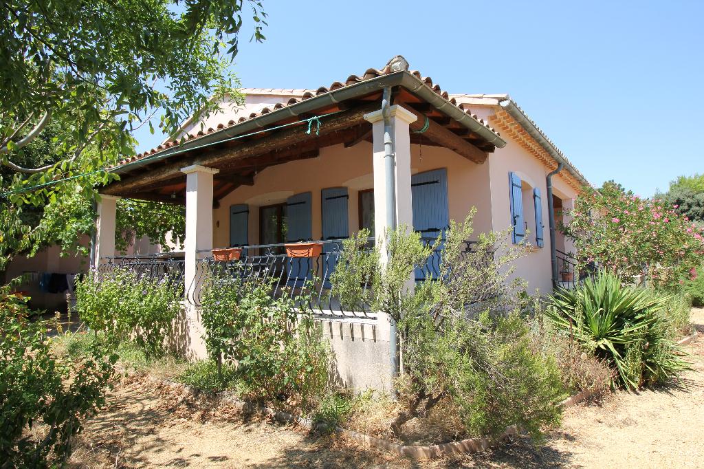 Ste Cécile Les Vignes-2 Maisons une de 120m2 et une de 60m2-terrain 1617m2