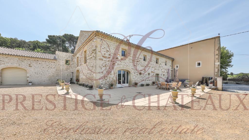 Mas Provençal avec gîtes 19 pièce(s)