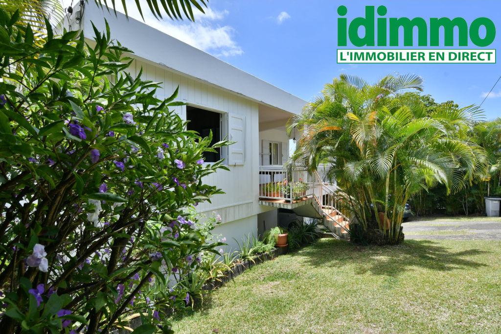 IDIMMO : Bellepierre, villa T4 + T2 indépendant sur 466m²