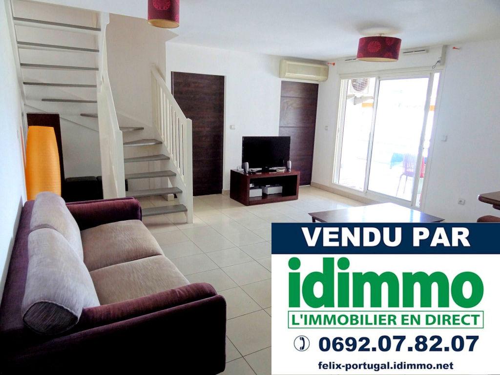DÉJÀ VENDU PAR IDIMMO : St Denis centre, appt T4 duplex 112m² SU au dernier étage !