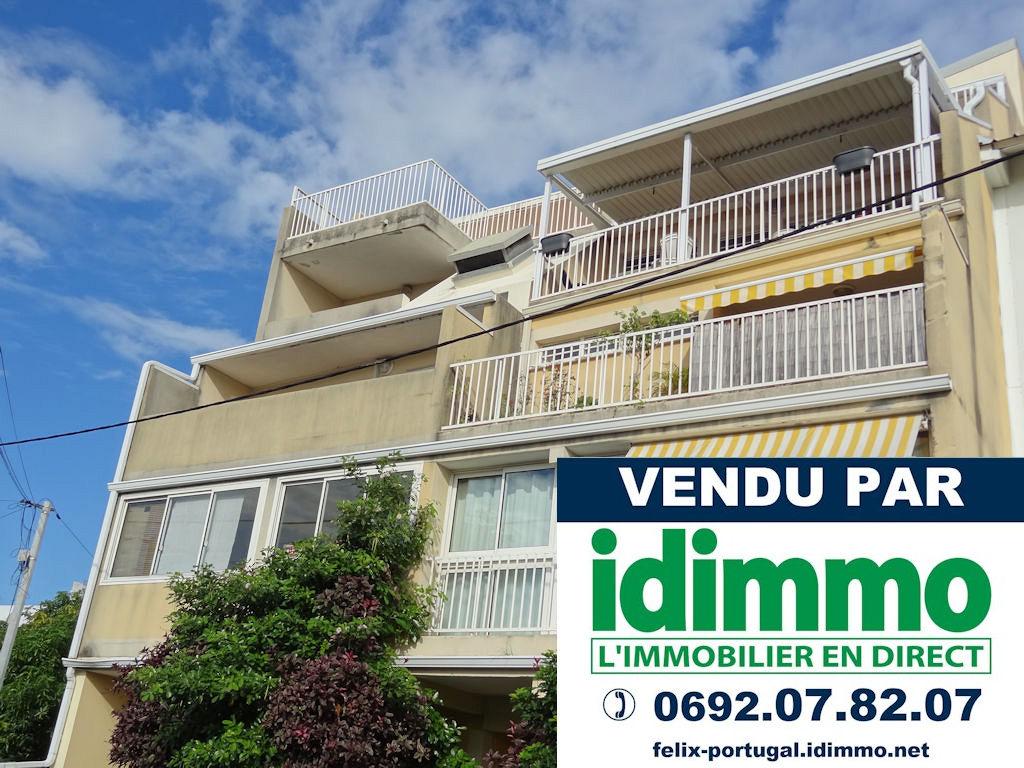DÉJÀ VENDU PAR IDIMMO : St Denis centre, Appt T1 47m² SU avec  varangue et PK !