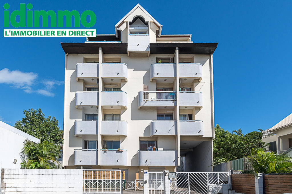 IDIMMO: St Denis Providence, Appt T1 31m² SU avec balcon et PK !