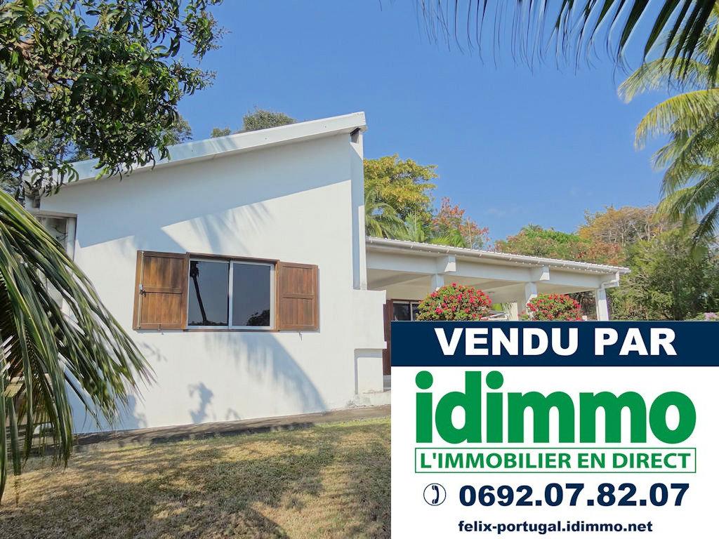 DÉJÀ VENDU PAR IDIMMO : St Denis, villa plain-pied T4/5 de 149m² SU sur terrain 813 m² !