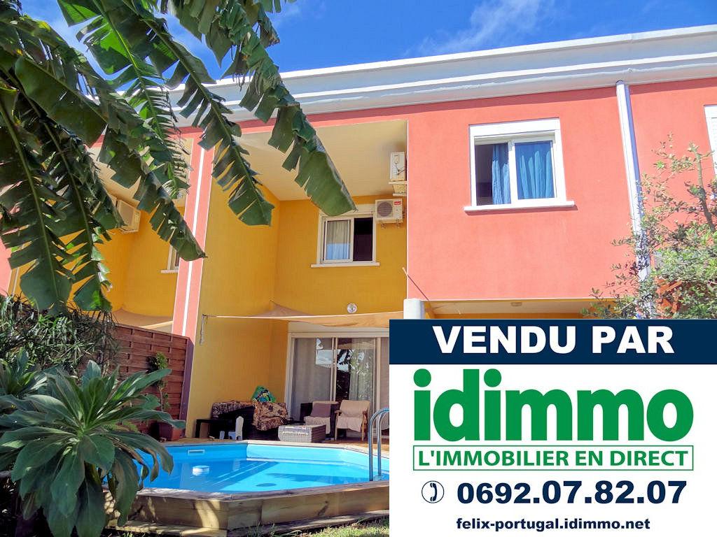 DÉJÀ VENDU PAR IDIMMO: Ste Clotilde Clinique, villa T4 jumelée 123m² SU, vue mer !