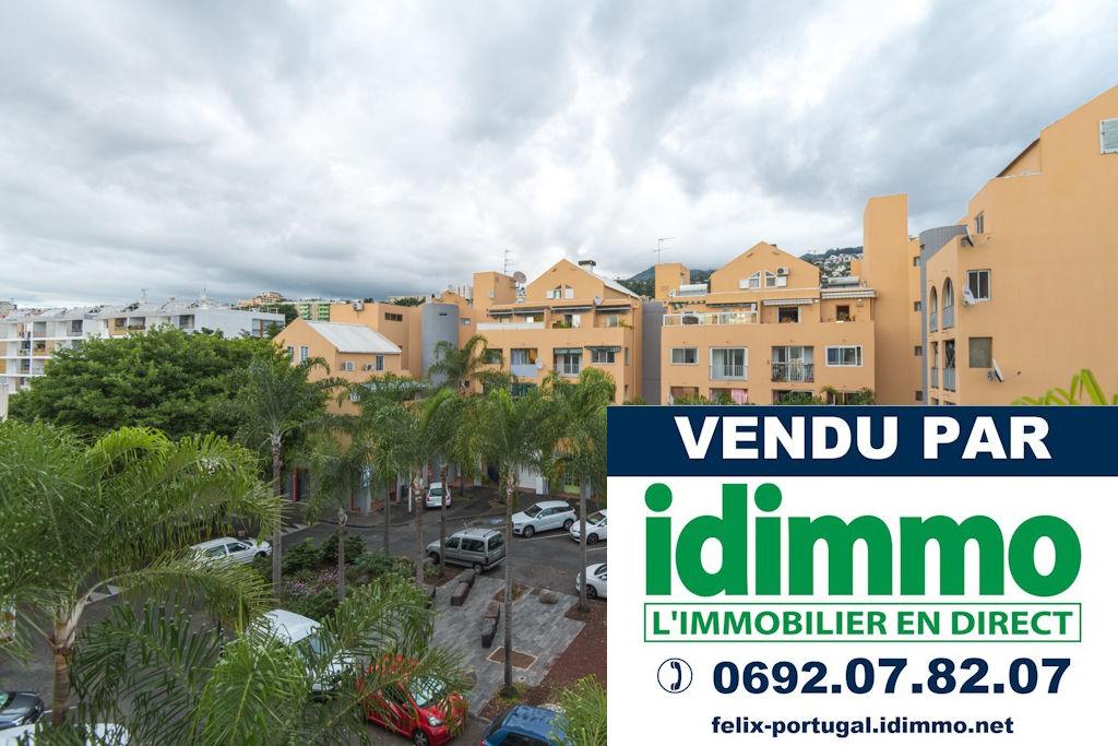TROP TARD, DÉJÀ VENDU PAR IDIMMO:  St Denis Camélias, Appt T4 de 99m² !