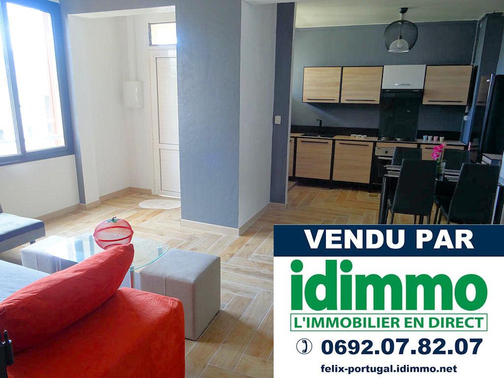 IDIMMO : St Denis proximité centre ville, appt T5 de 82m² avec cave et PK !