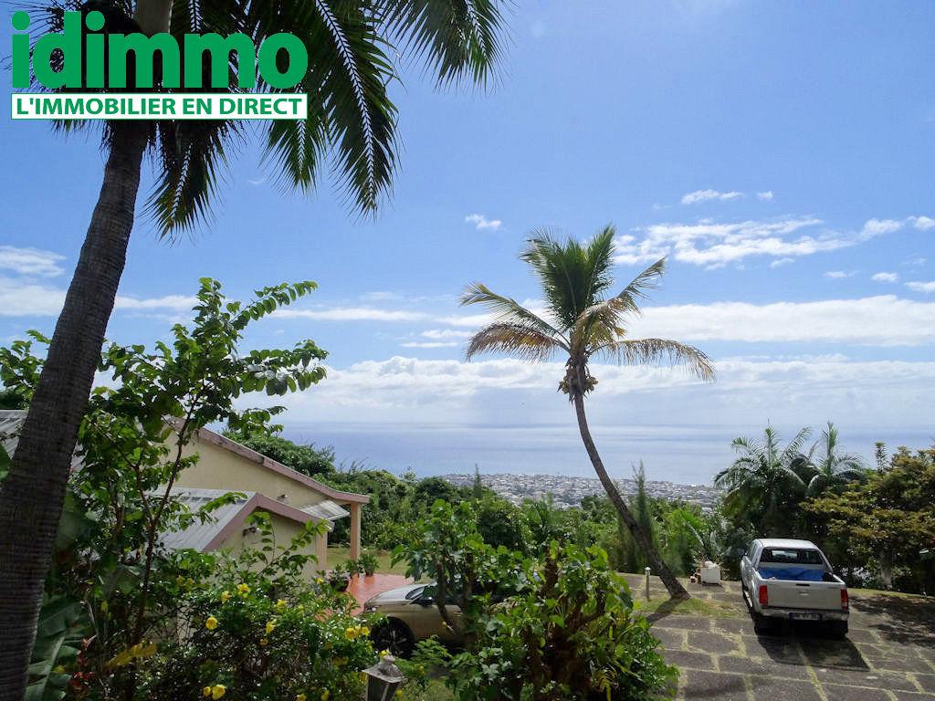IDIMMO : St Denis Bellepierre, parcelle de 2000m² avec vue mer panoramique !