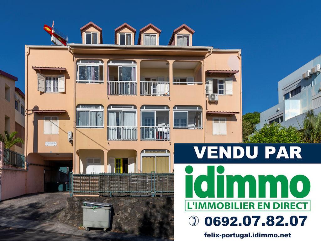 IDIMMO: Ste Clotilde Clinique, spacieux appt T3 92m² vue mer !