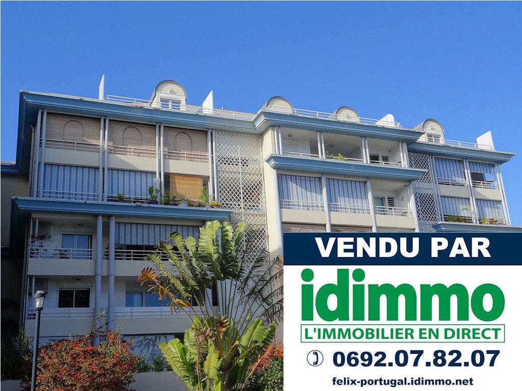 IDIMMO: Ste Clotilde, spacieux appartement T2 de 66m² SU, vendu loué !