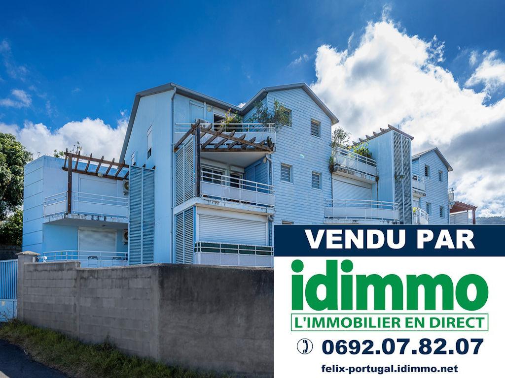 IDIMMO : Ste Clotilde BDN, Appt T2 de 55m² SU avec Jardin de 35m² et PK !