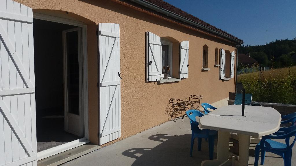 Pavillon 2005  21400 Châtillon sur seine avec terrain et sous sol de 100m²