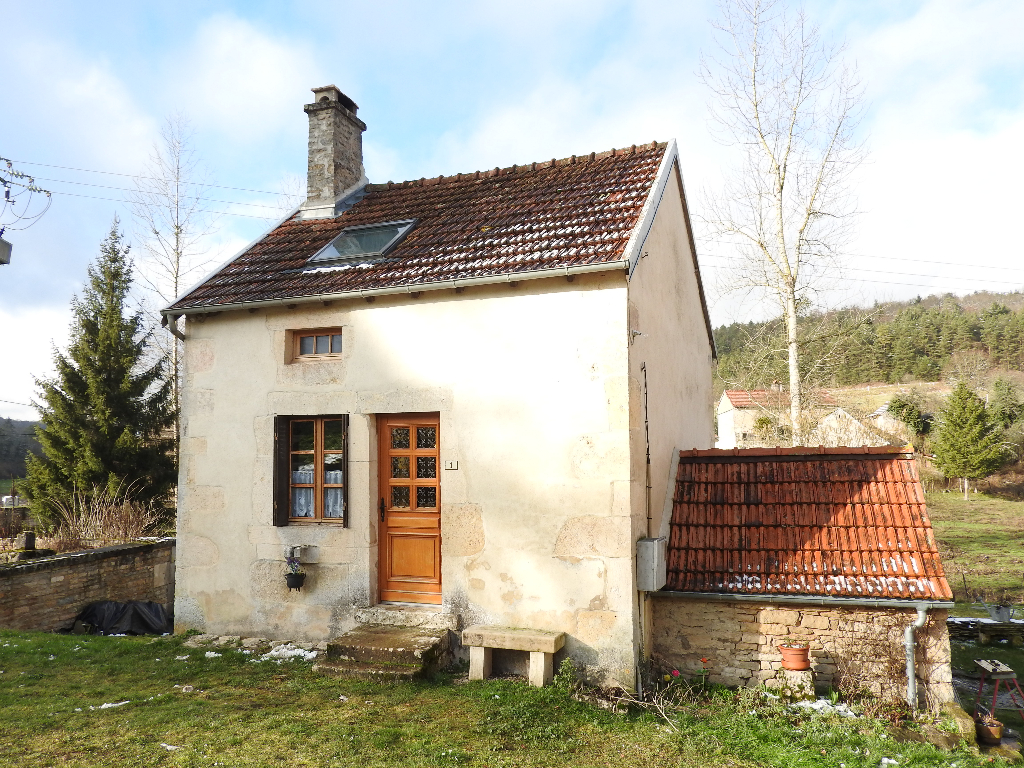 Maison de village rénovée avec terrain proche du futur parc  national 21510 Aignay le duc   cote d'or