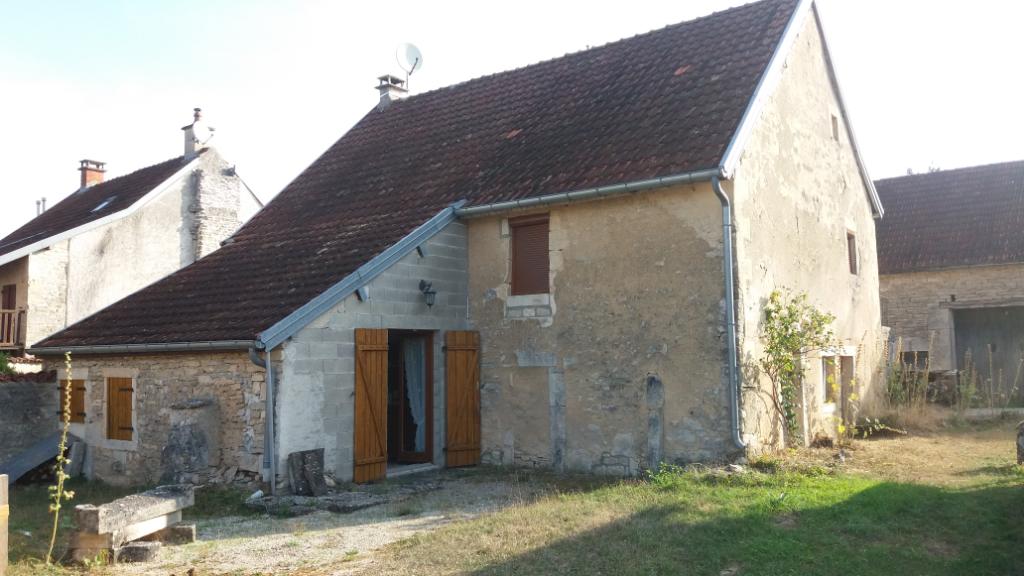 Maison  charmante de 100 m² dans village proche  de Recey sur ource 21510 cote d'or  et a 25 km de Châtillon sur seine