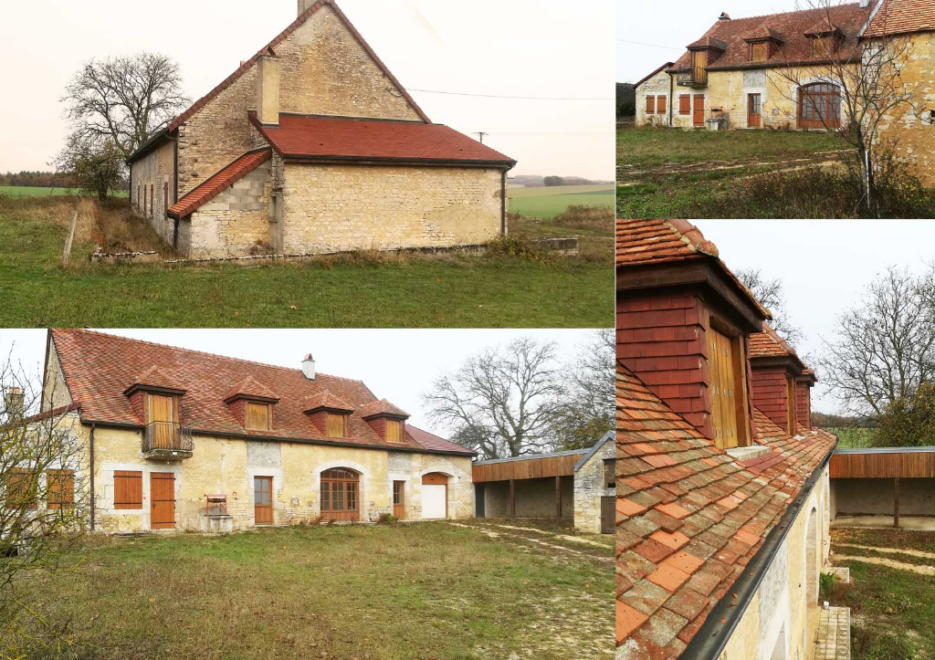 Magnifique maison de campagne  de 230 m²  21510 Aignay le duc cote d'or  avec terrain  de 3400 m²  gare  TGV a 50 minutes