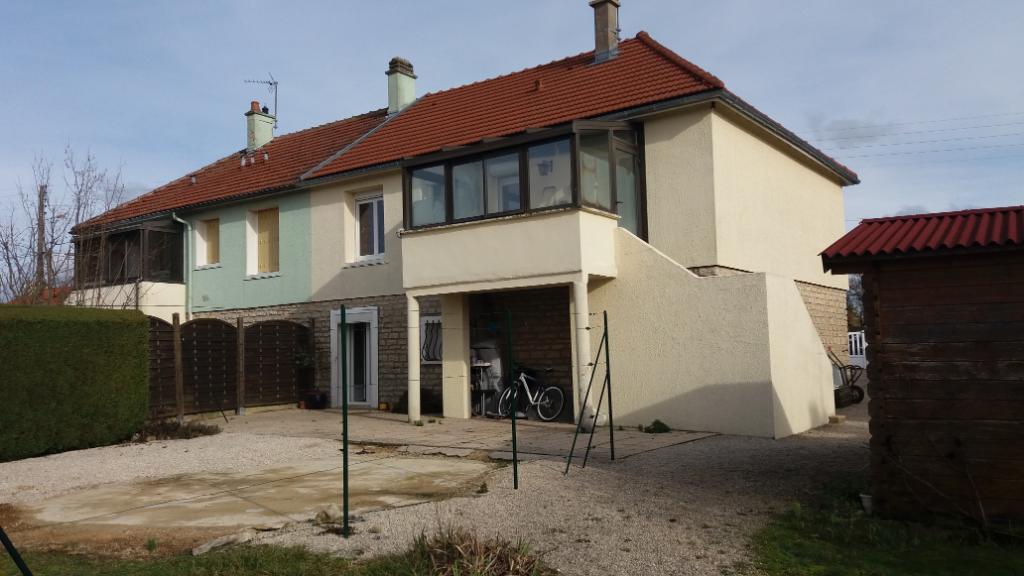 Maison de 95 m² rénovée   proche de Chatillon sur sein 21400 cote d'or avec 500m² de terrain