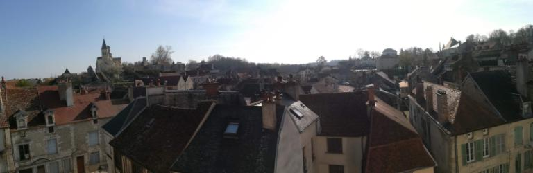 Appartement  au centre de Châtillon Sur Seine 4 pièce(s) 75 m2  rénové au  4é étage  21400 cote d'or