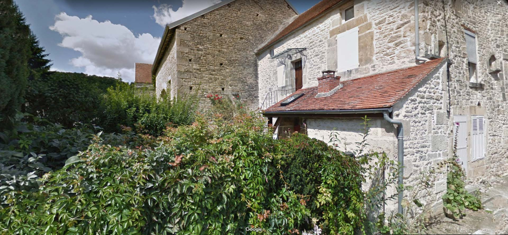 Aisey-sur-Seine - Maison 4 pièces, 3 chambres avec terrain et dépendance, située dans le Châtillonnais (21 Côte d'Or).