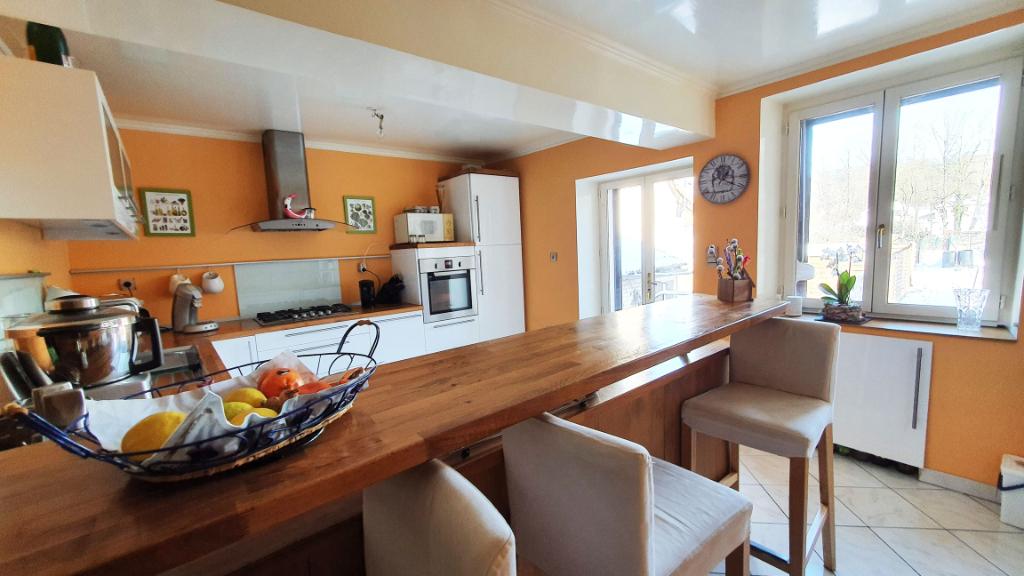 Mussy-sur-Seine (10250 Aube), maison de 100 m², 5 pièces, 2 chambres avec cour privative.