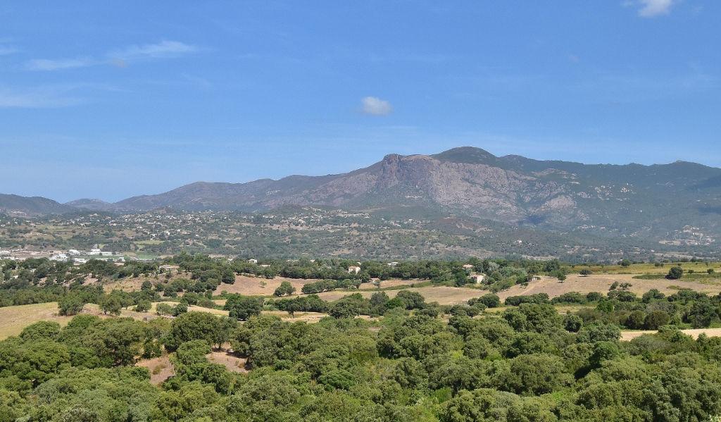 PROCHE AJACCIO Beau terrain plat 1000m²