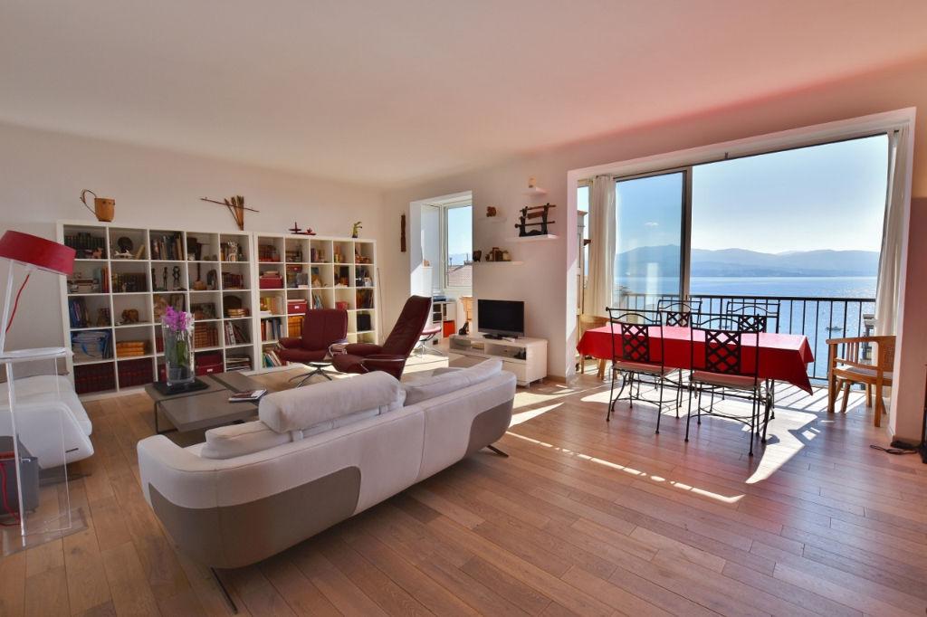 AJACCIO Parc Berthault - Duplex F4 vue mer dernier étage