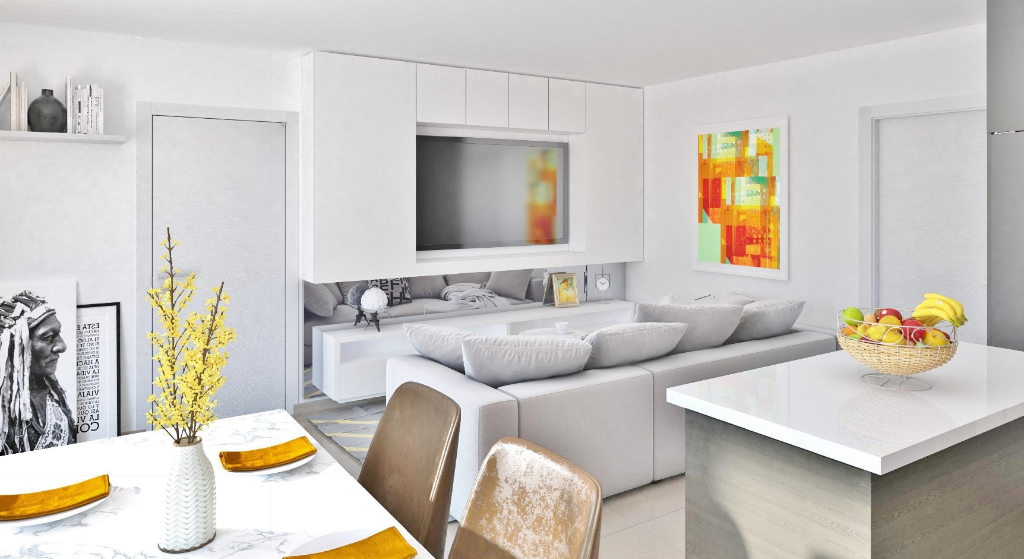 AJACCIO Appartement T4 79m² + 2 boxs