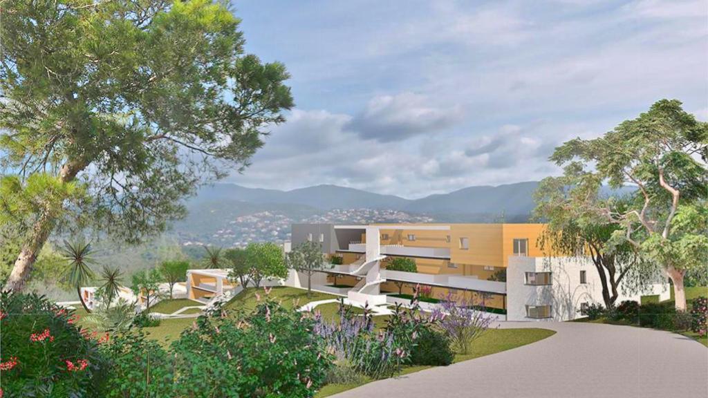 PORTICCIO Beau T2 avec terrasse, jardin et garage