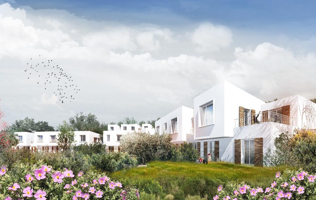 Villa Duplex T4 avec jardin