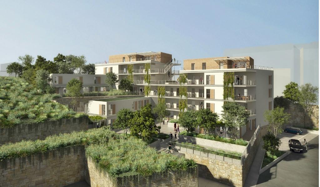 LES HAUTS D'ACQUALONGA Villa sur toit avec garage