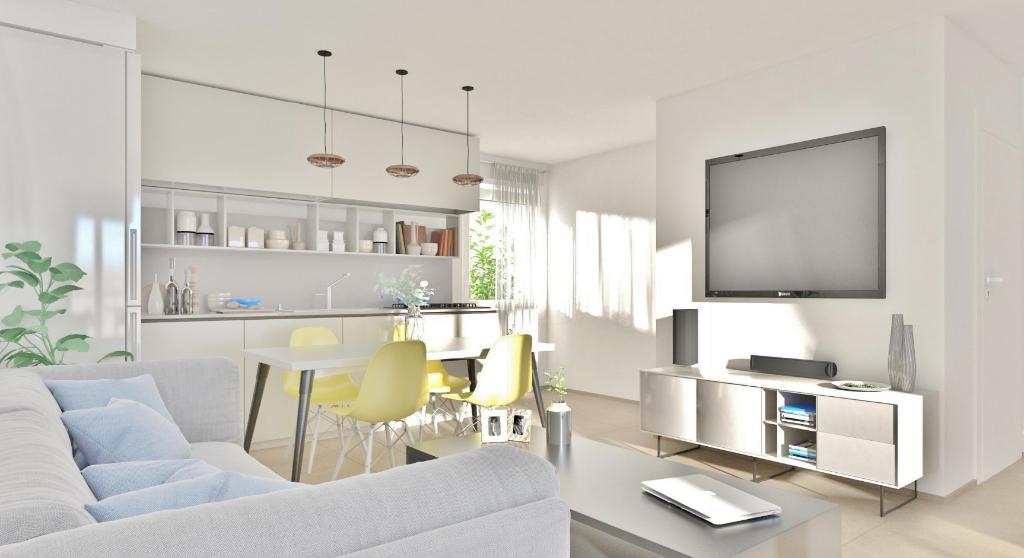 AJACCIO Appartement T3 64m² + 2 boxs