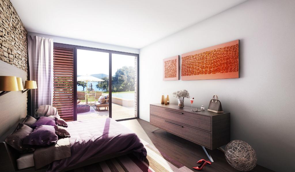 Villa de luxe très proche de Saint-Tropez avec vue mer