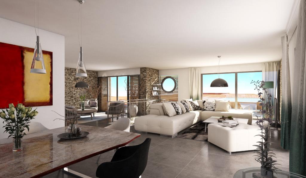 Villa de luxe neuve avec vue mer