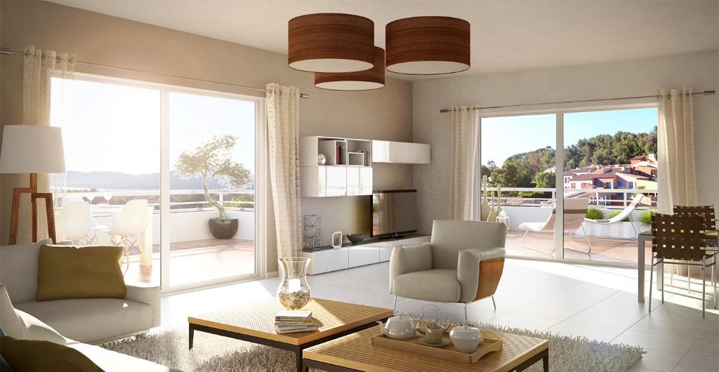 Rare, appartement de luxe neuf, terrasse au coeur de Saint-Tropez