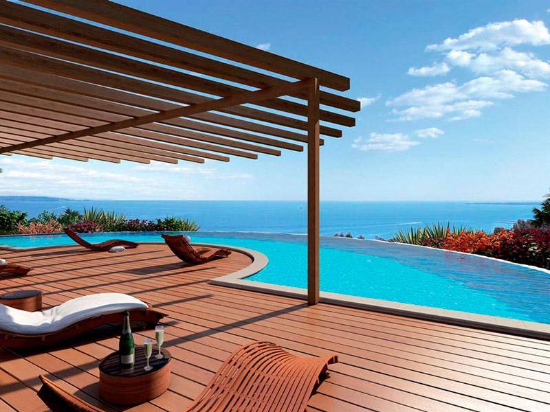 Appartement de luxe dans une résidence avec piscine