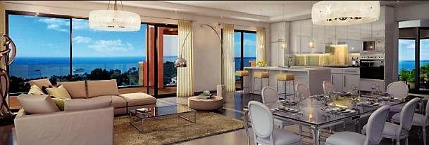 Appartement de luxe avec jardin privatif