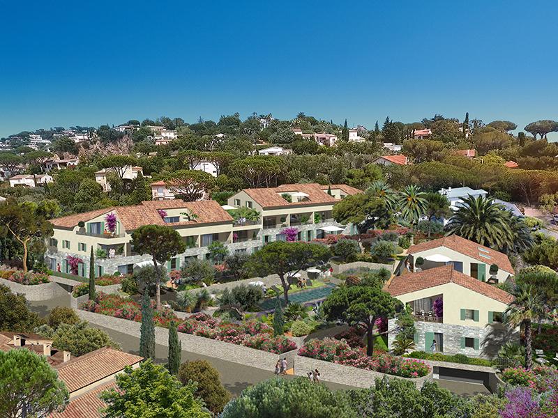 Appartement de luxe 4 pièces  avec terrasse et jardin 100m2