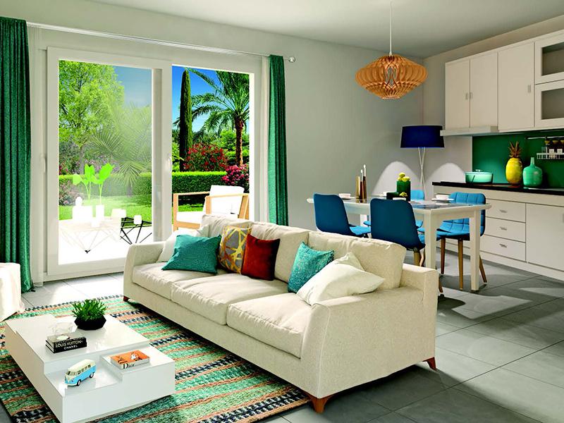 Dernière opportunité : appartement T2 de 41 m2  plus 18 m2 de terrasse, très bien orienté