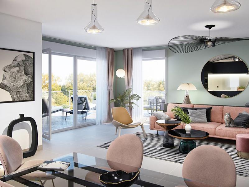 Appartement avec terrasse et jardin