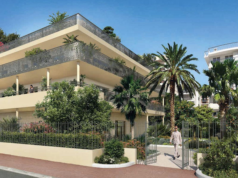 Rare à Cannes très proche de la Croisette: luxueux 3 pièces 73 m2 + terrasse 17 m2