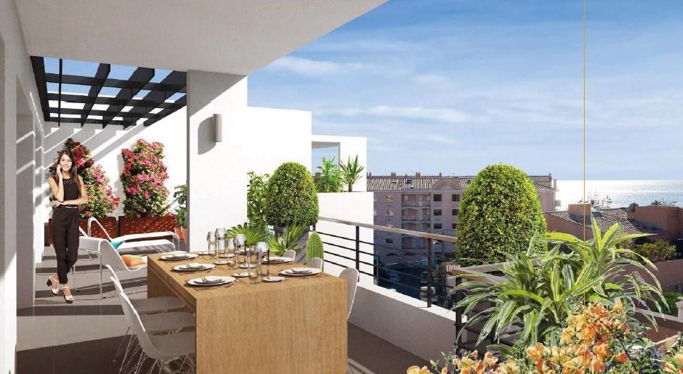 Grand T4 lumineux, larges terrasses, calme à 2 pas des plages de Fréjus et Saint-Raphaël