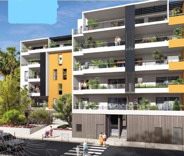 T3 calme avec terrasse, parking à deux pas des plages