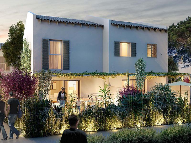 Villa-maison avec terrasse et jardin