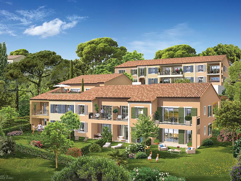 Appartement standing neuf T3 de 60 m2 avec terrasse et jardin privatif de 34 m2