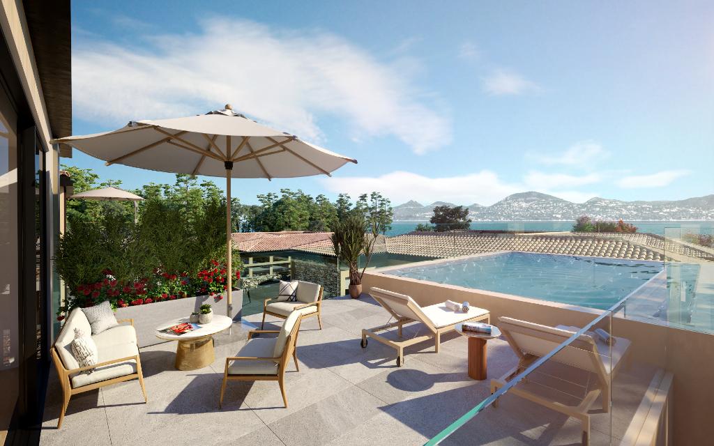 Villa de luxe neuve magnifiquement conçue avec piscine privée