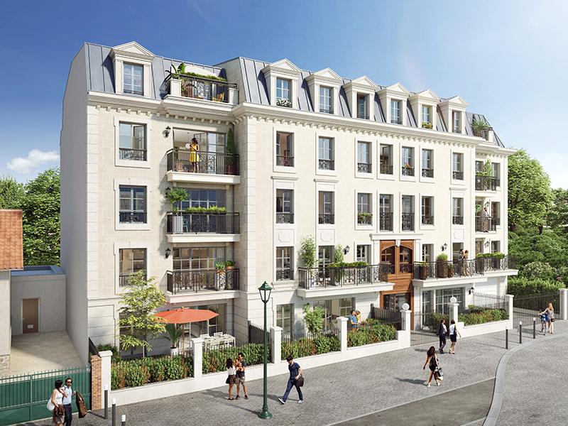 Offre Spéciale: 12000€  de remise jusqu'au 28 Février T4 neuf idéalement situé  dans un quartier résidentiel proche de la forêt de Meudon